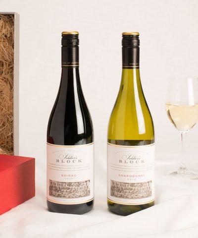 2 bottle Australian wine gift