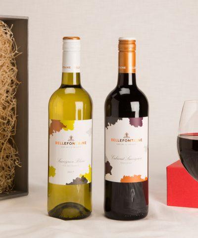 2 bottle French wine gift