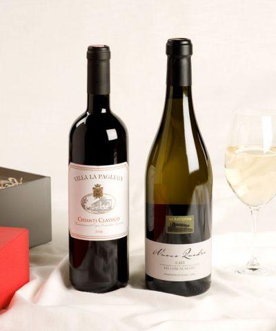2 bottle Italian wine gift