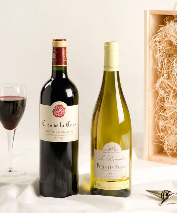 2 bottle Luxury French wine gift