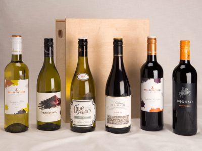 6 Bottle wine gift set