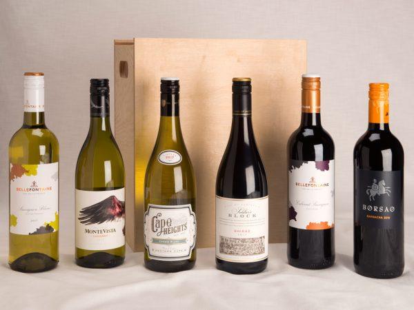 6 Bottle wine gift set