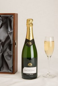 corporate personalise champagne gifts