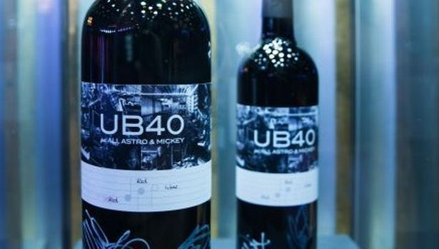 UB40 red wine