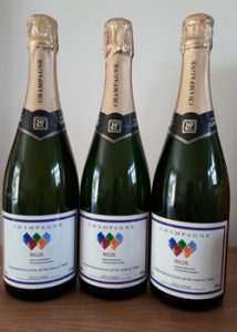 branded Champagne and wine gifts