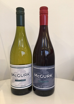 McGurk personalised wine